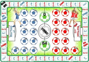 12 Times Multiplication Table Games