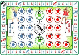 9 Times Multiplication Table Games