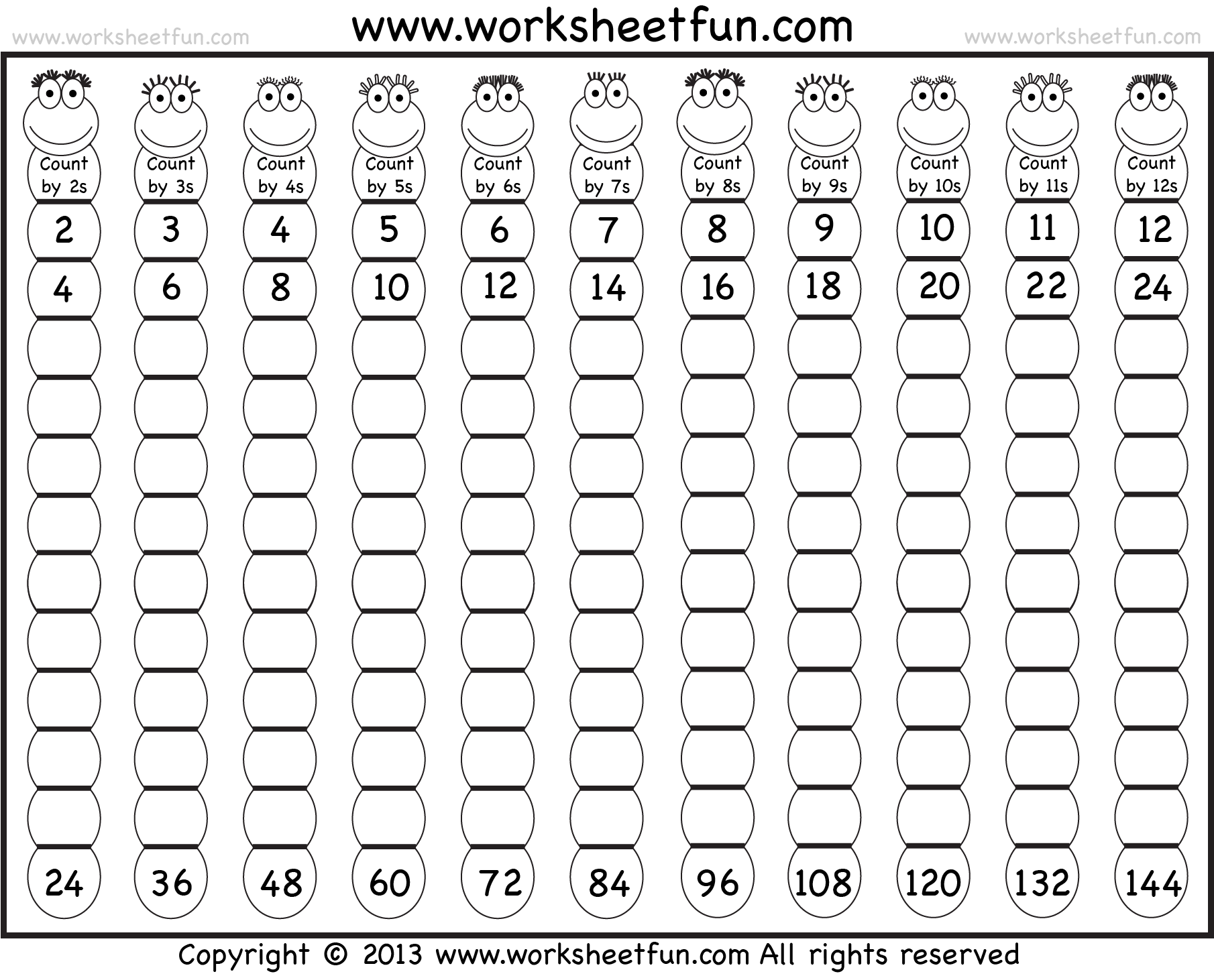 Multiplication Table 1 12 Chart Multiplication Table