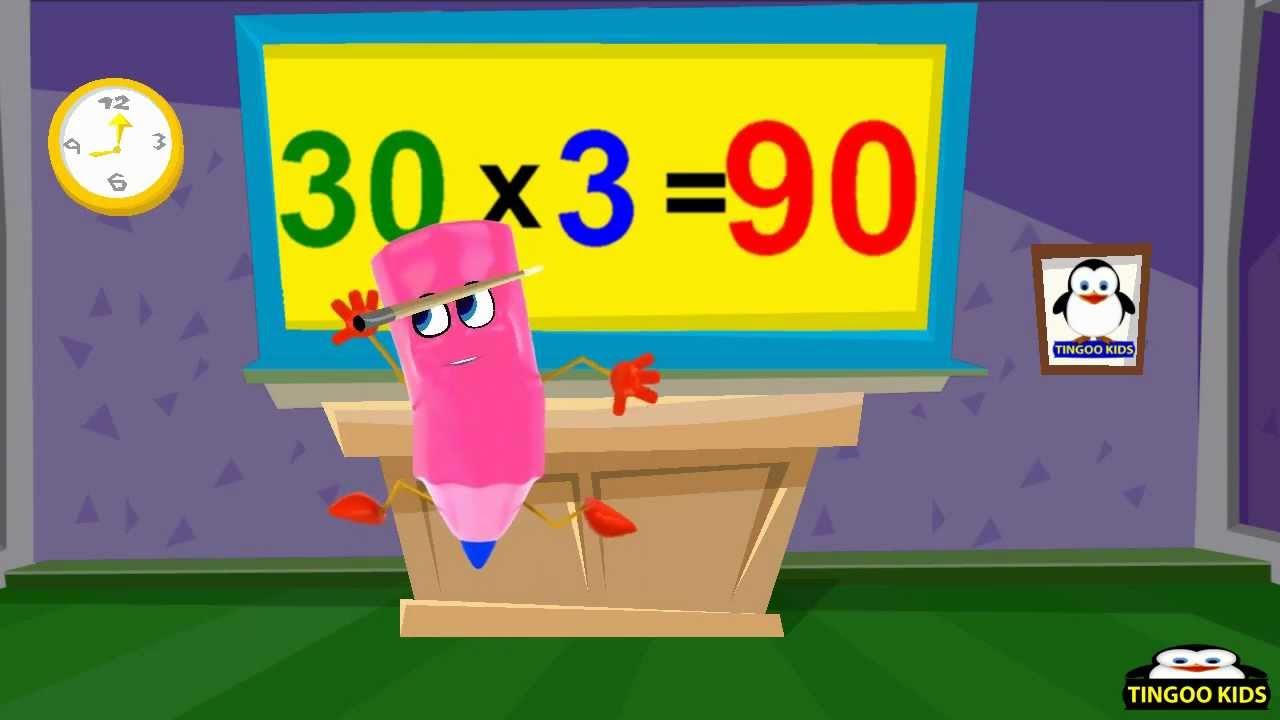 30 Times Multiplication Table Worksheet