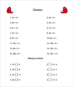 Multiplication and Division Worksheets Grade 4 PDF